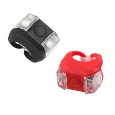 Apšvietimo komplektas Azimut Cube2 2LED 3F black/red