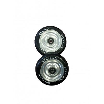 100 mm aliuminiai ratukai paspirtukams